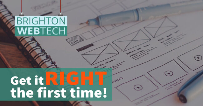 Get your website right first time
