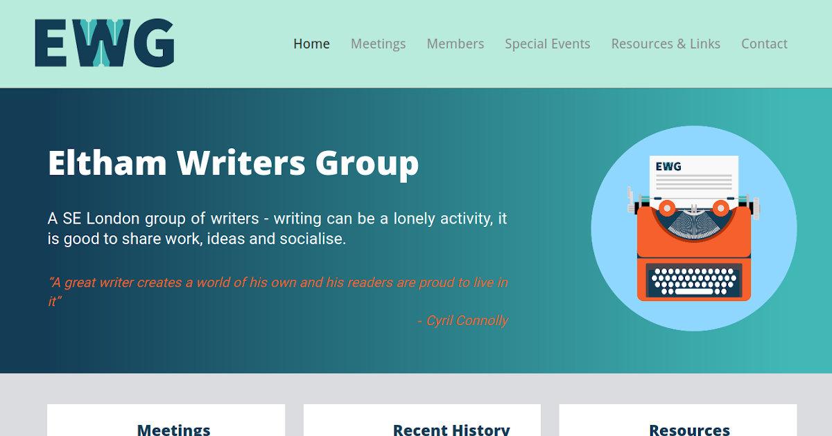 Eltham Writers Group