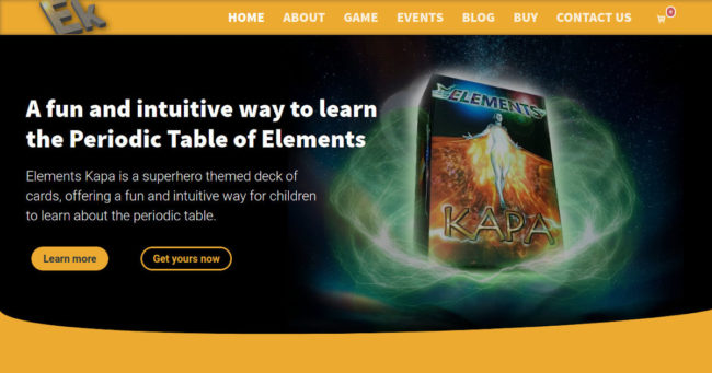 Portfolio image for Elements Kapa - Another website by Brighton WebTech